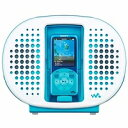 ウォークマン用ドックスピーカー ブルー ソニー RDP-NWR100/L