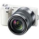 デジタル一眼カメラαNEX-5N ズームレンズキットホワイトソニーNEX-5NK/W【05P09Mar12】