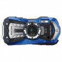防水デジタルカメラ WG-40W (ブルー) ペンタックスリコーイメージング WG-40WBL