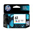 【5000円以上で送料無料】 HP ヒューレット パッカード 純正 HP61 インクカートリッジ カラー CH562WA