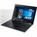 Aspire One 11 AO1-132-H14N/W (Celeron N3060/4GB/32GB eMMC/ドライブなし/11.6/Windows10 ...