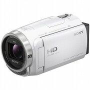 デジタルHDビデオカメラレコーダー Handycam CX680 ホワイト ソニー HDR-CX680/W