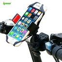 【送料無料】ipow 自転車 スマートフォンホルダー 360度回転 自転車 スマホ ホルダー 脱落防止 スマホスタンド 自転車 iPhone 7 Plus Xp...