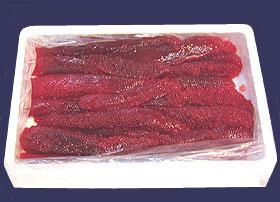 【送料無料・業務用】紅鮭筋子(醤油漬) 2kg(アメリカまたはカナダ産)【送料無料 魚卵 鮭】【smtb-TK】