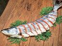 【送料無料】鮭山漬雄宝(ゆうほう)半身(姿切身)約1.3kg・中辛【お歳暮】