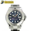 ロレックス ROLEX ヨットマスター ロレジウム 116622 ランダムシリアル ブルー 自動巻 SS プラチナ メンズ 腕時計【中古】【送料無料】