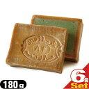 ショッピング無添加せっけん 【当日出荷】【送料無料】【無添加石けん】アレッポの石鹸 エキストラ40(Aleppo soap extra40) 180g x 6個セット【smtb-s】