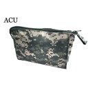 ショッピングチケット US軍 裏防水布使用エチケットポーチレプリカ ACU