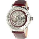 MANNINA(マンニーナ) 腕時計 MNN005-03 メンズ 正規輸入品 レッド 送料無料!