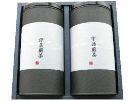 ギフト日本茶詰合せ(深蒸し煎茶120g・宇治茶1...の商品画像