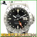 127185【送料無料】【中古】【ROLEX】【ロレックス】エクスプローラーII 1655 70番台 SS ブラック(黒)文字盤 自動巻きrolex アンティーク ステンレス オートマチック メンズ時計