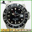 124785【送料無料】【中古】【ROLEX】【ロレックス】GMTマスター 16750 9番台 SS 黒(ブラック)文字盤 自動巻きrolex アンティーク メンズ時計