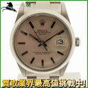129434【送料無料】【中古】【ROLEX】【ロレックス】オイスター パーペチュアルデイト 15000 SS シルバー文字盤 自動巻きアンティーク オートマチック ステンレス メンズ時計