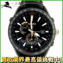 140944【送料無料】【中古】【SEIKO】【セイコー】アストロン 服部金太郎 特別限定 SBXA100 ブライトチタン×革 黒(ブラック)文字盤 ソーラーseiko メンズ時計
