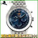 128543【送料無料】【中古】【BREITLING】【ブライトリング】ナビタイマー01 AB0127 SS ブルー(青)文字盤 自動巻きオートマチック クロノメーター メンズ時計
