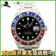 150939【送料無料】【中古】【ROLEX】【ロレックス】GMTマスター 16700 X番 SS 青×赤ベゼル ブラック(黒)文字盤 自動巻きrolex メンズ時計
