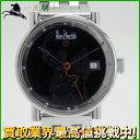 99639【送料無料】【中古】【AlainSilberstein】【アラン・シルベスタイン】クラブメディオ オリオン 2892A2 SS ブラック(黒)文字盤 自動巻き世界250本限定 メンズ時計