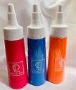 Re・aesfou<リエスファ>シリーズ天然石ボトル50ml−3本セットオレンジ・ブルー・ピンク各1本<底辺直径3.5cm 高さ10cm>