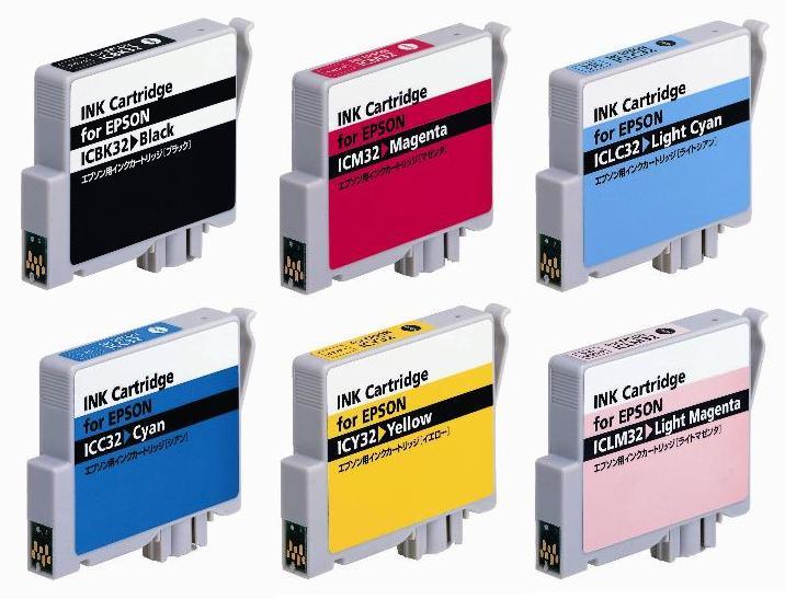 エプソン IC6CL32 ◆高品質互換 国内メーカー品 6色セット