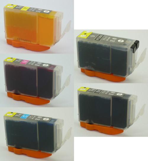 Canon BCI-9BK, 7 e-cheap 9 BK 7 e-compatible-5 favorite set BKCMY