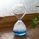 泡時計 ブルー【20P01Oct16】【HLS_DU/ギフト】【砂時計/泡/バブル/おしゃれ/インテリア/卓上/ガラス/Fun Science/ファン・サイエンス】