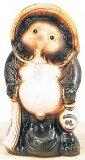 並狸8号信楽焼 陶器 置物 たぬき彩り屋