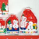 クリスマスラッピング用袋 クリスマスラッピング袋 クリスマスラッピングバッグ スノーマンギフト巾着バッグ ポリ袋 巾着バッグ ビニールバッグ ビニール袋 手提げ袋 手提げバッグ クリスマスラッピング ラッピング袋 袋 ラッピングバッグ ギフト袋 ギフトバッグ
