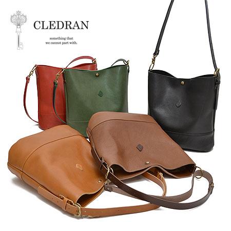 CLEDRAN AMO SERIES女士单肩侧背两用包