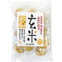 ショッピング玄米 玄米煎餅 15枚 ムソー