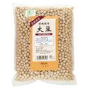有機栽培大豆(北海道産) 1kg オーサワジャパン