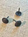 DIY ガーデニング Φ20mm 円型 鉄鋲 鉄びょう アイアン 装飾鋲 家具 ドア ネイル 金物 リメイク 丸 アンティーク ビス隠し 鋲 スタッズ プッシュピン 1個から販売 おしゃれ 可愛い