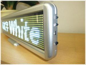 LEDボード96白 (白LED 全角6文字)表...の紹介画像3