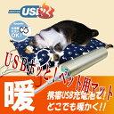 HOTTEM USB対応あったかペット用暖房クッション(ホワイト)