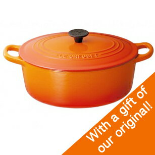 is kitchen rakuten global market le creuset oval casserole cocotte ovale 27cm orange flame. Black Bedroom Furniture Sets. Home Design Ideas