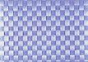 サリーン 耐熱温度80度・洗えるランチョンマットドイツ製 編みランチョンマット (アイスブルー)