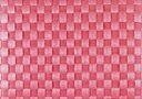 saleen(ザリーン) 洗えるランチョンアミマットドイツ製 編みランチョンマット (シェルピンク)