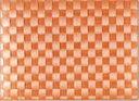 saleen(ザリーン) 洗えるランチョンアミマットドイツ製編みランチョンマット テラコッタ