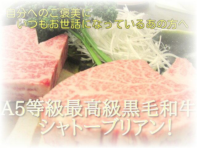A5等級 最高級国産黒毛和牛 ヒレステーキサービスセット(120g×3枚)【RCP】
