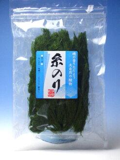 很多的風味! 膠水、 紗放的紫菜 (海苔和執行緒) 6 g