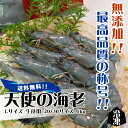 天使の海老 Lサイズ 生食用 20/30サイズ 1kg 冷凍[魚介類]
