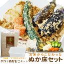【クーポンで50円OFF】ぬか床セット 送料無料 簡単にぬか