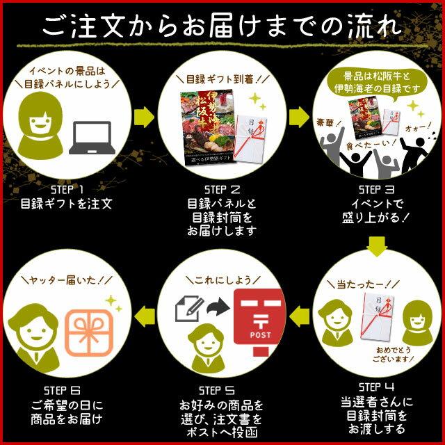 松阪牛 伊勢海老 伊勢路目録ギフト A3パネル...の紹介画像3