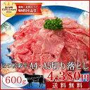 松阪牛 切り落とし600g 送料無料 A4・A5ランクの松阪肉を厳選