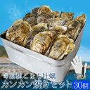 牡蠣カンカン焼きセット30個入 冷凍牡蠣 送料無料 旬凍桃こ...