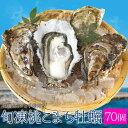 桃こまち牡蠣70個入 冷凍殻付き牡蠣 送料無料 三重県鳥羽産 加熱用(発泡箱入・牡蠣ナイフ・片手用軍手付き)海鮮バーベキューセット
