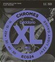 D'Addario / Chromes Flat Wound ECG24 Jazz Light 11-50【渋谷店】