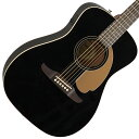 FENDER / MALIBU PLAYER Jetty Black (JTB)【CALIFORNIA SERIES】フェンダー アコースティックギター【新宿店】