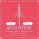 AUGUSTINE 【オーガスチン】 RED ミディアムテンション 【弦 クラシックギター弦 ガットギター弦】【御茶ノ水本店】