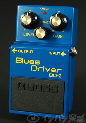 BOSS / BD-2 Blues Driver オーバードライブ【ボス エフェクター ブルース・ドライバー】【渋谷店】