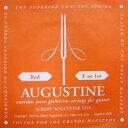 AUGUSTINE / Red Medium Tension E or 1st バラ弦 【クラシックギター弦】【Classic Guitar Strings】【ガットギター弦】【Gut】【ナイロン弦】【Nylon】【オーガスチン】【レッド】【ミディアムテンション】【1弦】【Single】【新宿店】